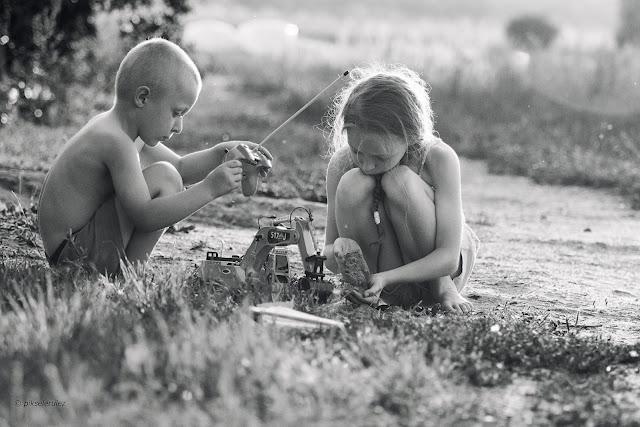 dzieci, summertime, lato, kids, poland, agata raszke, wieś,