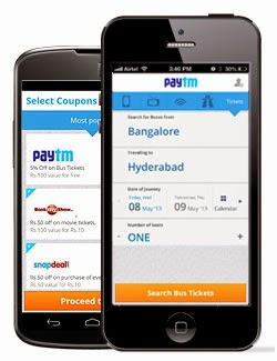 Paytm Online Recharge Offer - Ge Rs. 150 Talktime at Rs. 50 only ( New Users )
