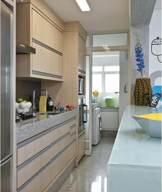 decoracao kitnet praia:Cozinhas planejadas: Cozinhas planejadas para apartamentos pequenos