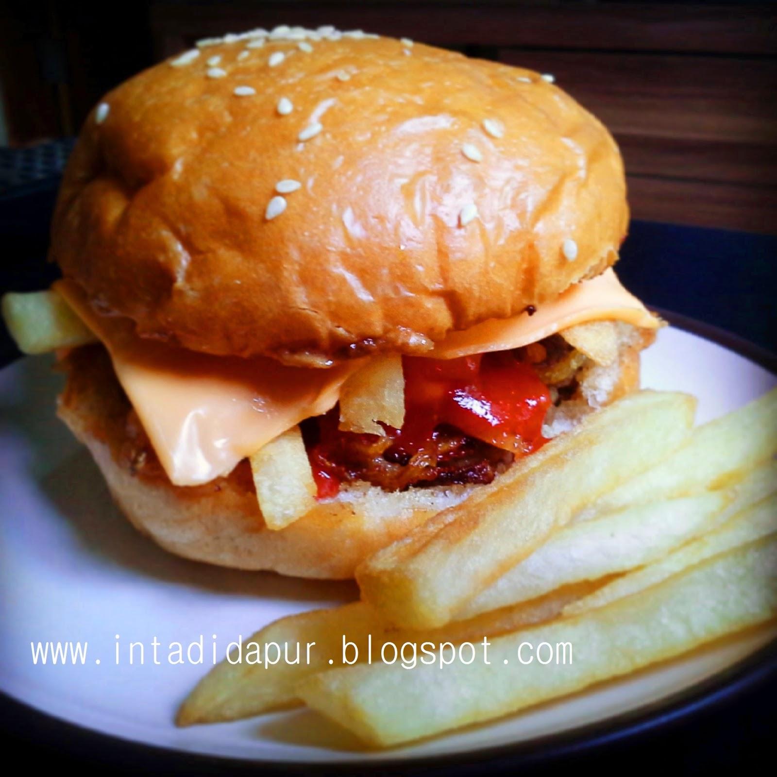 having fun in the kitchen homemade burger