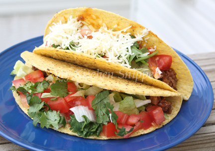 how to cook frozen ground beef for tacos