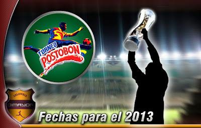 Descargar Calendario (completo) de la Liga Postobon 2013