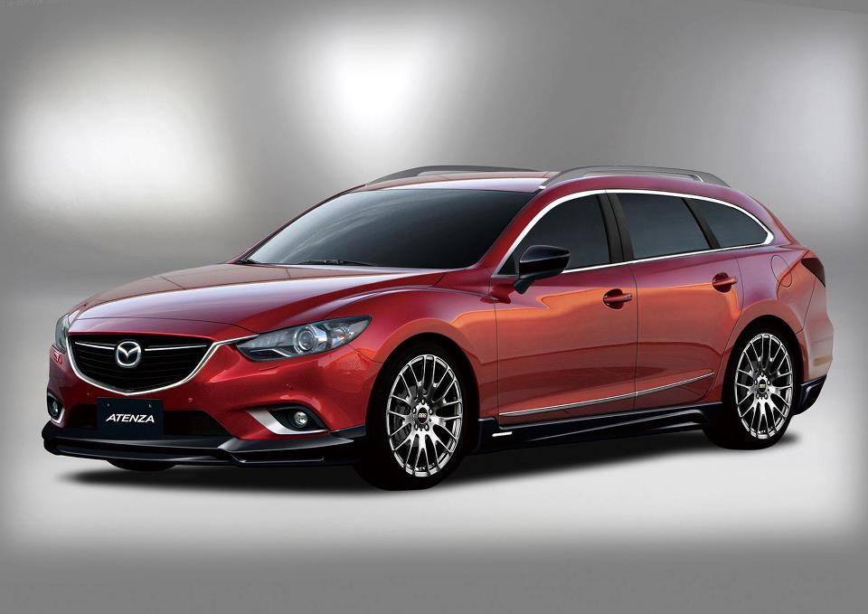 mazda 6 wagon for canada and the usa. Black Bedroom Furniture Sets. Home Design Ideas