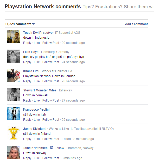 Is PlayStationNetwork hacked, Lizard Squad claims responsibility for DDoSing PSN and other gaming servers.