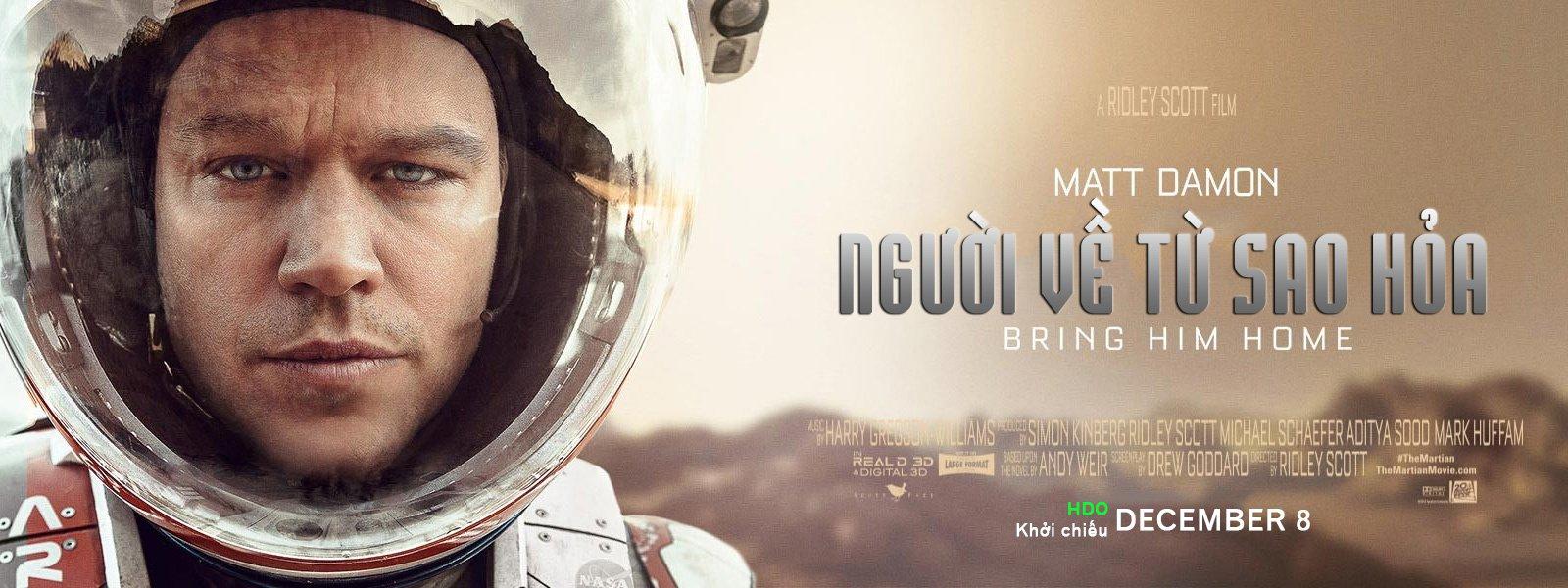 Người Về Từ Sao Hỏa - The Martian - 2015