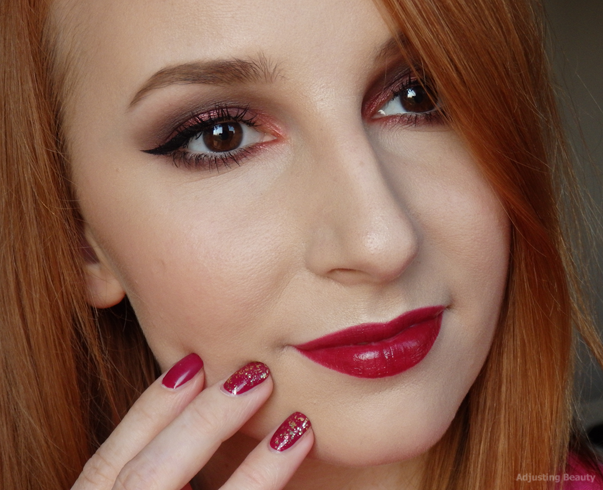 Review: MAC Matte lipstick - Lady Danger - Adjusting Beauty