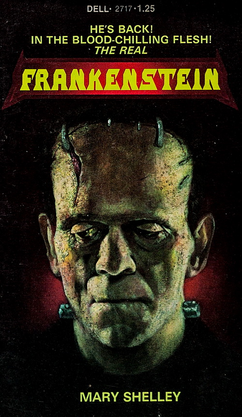 book report over frankenstein The science of life and death in mary shelley's frankenstein article by annual report of the royal humane in this book he argued that the putrefaction of.