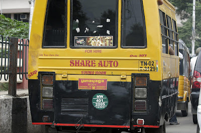 Share auto in Chennai