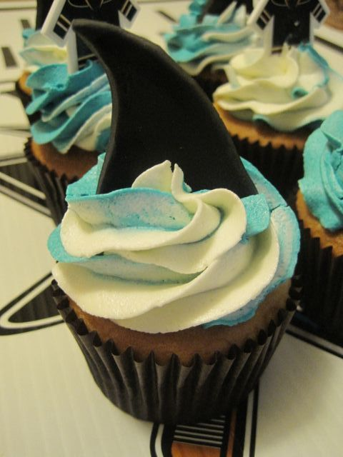 Your Happy Baker San Jose Sharks Cupcakes