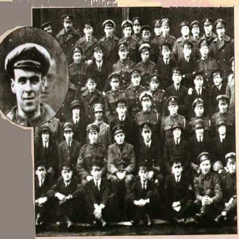 Goddard's Squadron Photograph Of Freddy Jackson