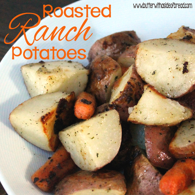 Oven Roasted Ranch Potatoes Recipe — Dishmaps