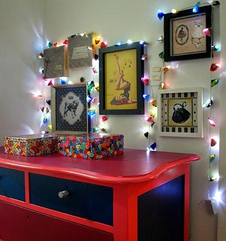 luzes de Natal, luminária, reciclagem, faça você mesma, decoração, luzes
