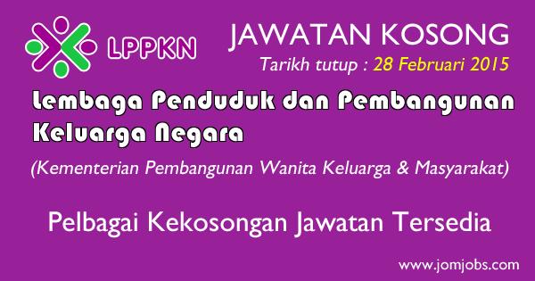 Jawatan Kosong LPPKN Terkini 2015 Kuala Lumpur