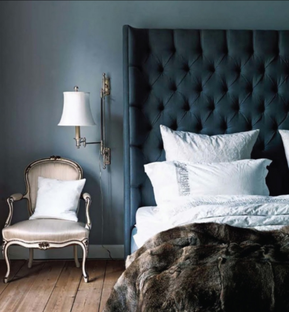 Bedroom Blue Grey Raised Bedroom Bed Plans Small Bedroom Black And White Art On Bedroom Wall: SPACE FOR INSPIRATION: Dark Beauties