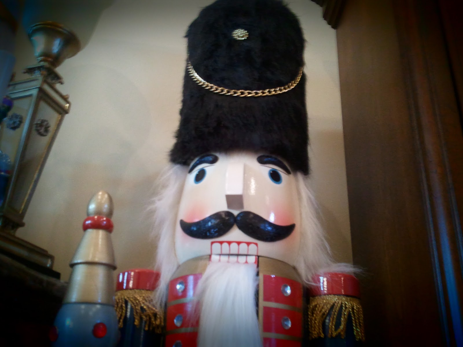 Anothur decor nutty for nutcrackers for 4 foot nutcracker decoration
