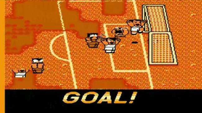 Radość po bramce zdobytej w grze Goal 3