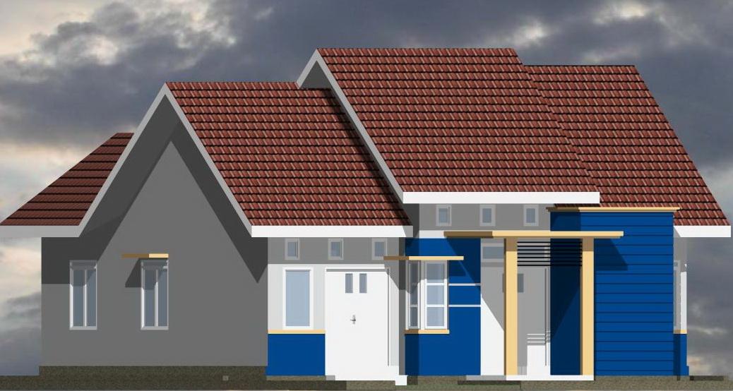 Desain Rumah Minimalis Type 22