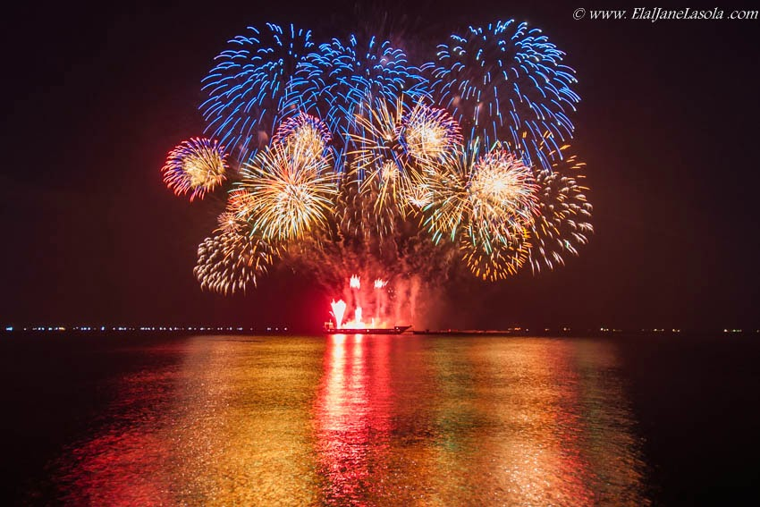 5th Philippine International Pyromusical Competition: Opening Exhibition and Australia