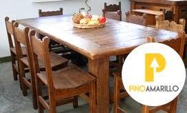 Muebles Pino Amarillo
