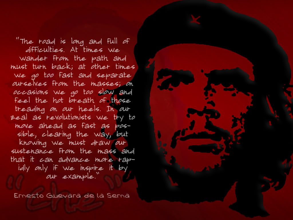 che guevara quotes in english quotesgram