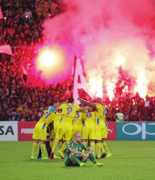 BolaSepak Piala Malaysia 2014 Pahang benam Kedah 5 0 tempah tiket final
