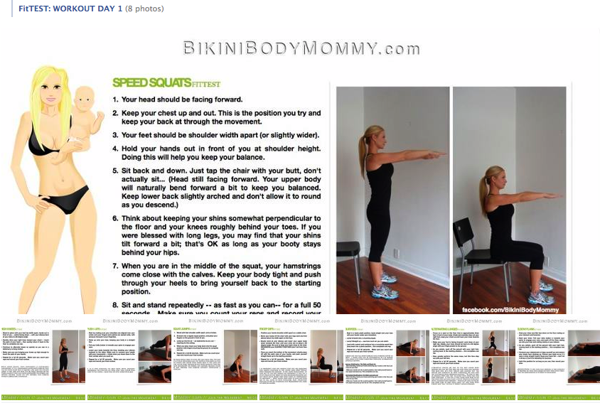 Bikini Body Mommy FREE 90 Day Challenge