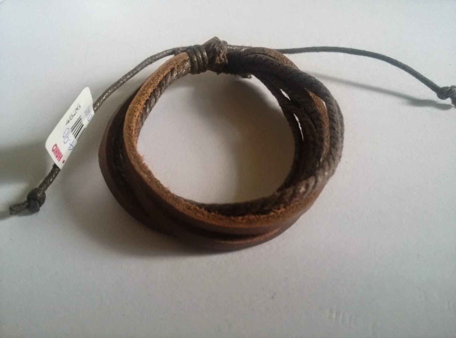 Dolly Accessoire: #1103 EXO Leather Bracelet #12113