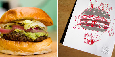 shizzle burger and print by burger theory and shane devries