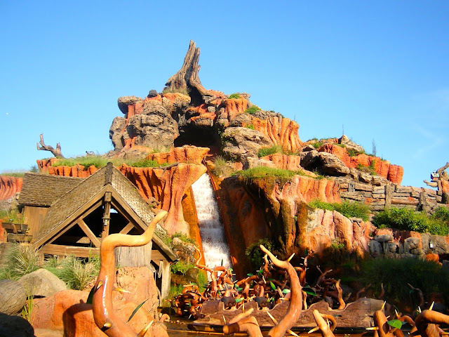 Splash Mountain - Magic Kingdom, Disney World, Florida