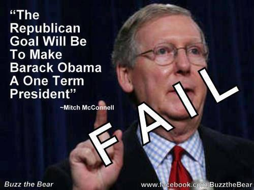 Image result for mcconnell number one priority obama