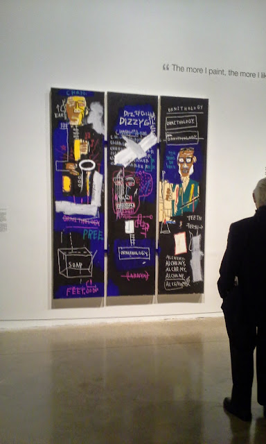 Jean-Michel Basquiat: Now's the Time Exhibit at Art Gallery of Ontario in Toronto, AGO, artmatters, crowningheroes, culture, pop, graffiti, brooklyn, new york, the purple scarf, melanie.ps, ontario, canada, horn players, 1083