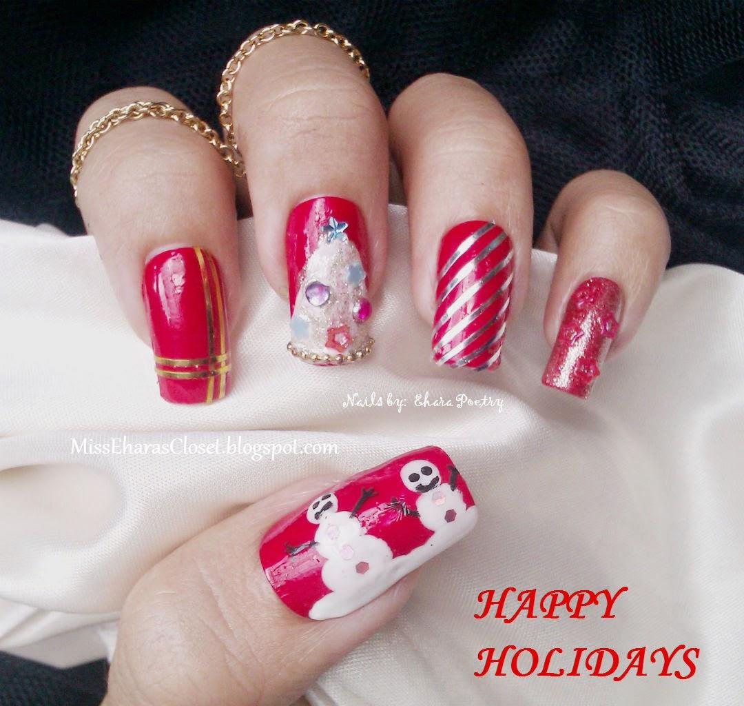 Holidays Christmas Nail Art