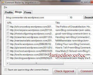 auto blog commenting software