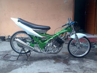 satria fu modif drag