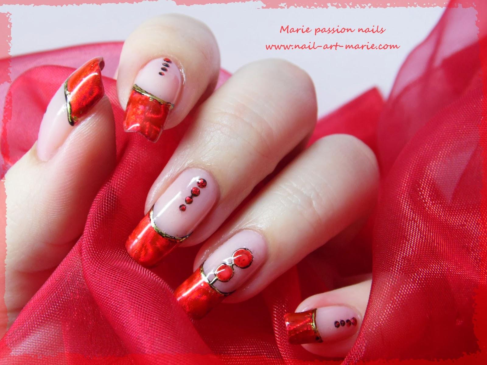 Nail art Saint Valentin7