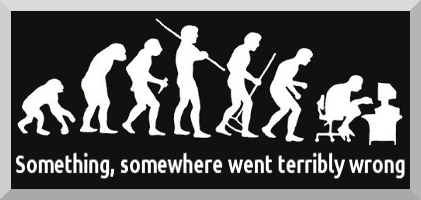Something, somewhere went terribly wrong