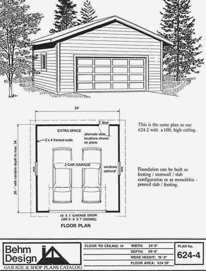 Garage Plans Blog Behm Design Garage Plan Examples Garage Plan