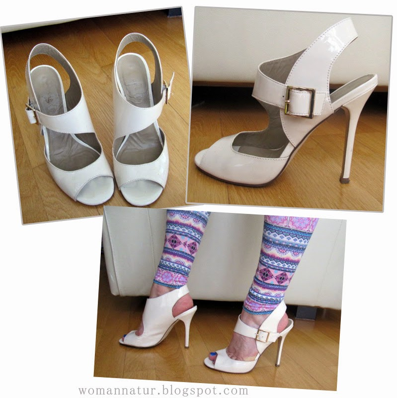 Sandalias blancas Fosco