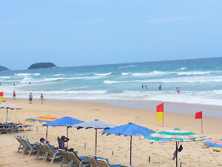 Karon Beach - Phuket in mid July