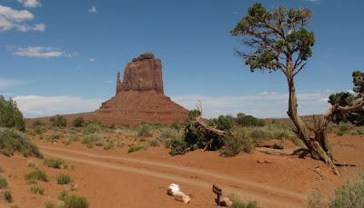 Monument Valley på grænsen mellem Arizona og Utah.