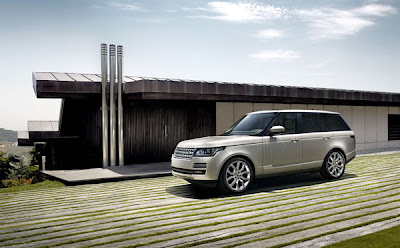 2013 Range Rover in its natural element