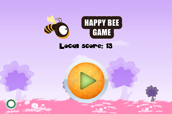 Flappy Bee game like Flappy Bird