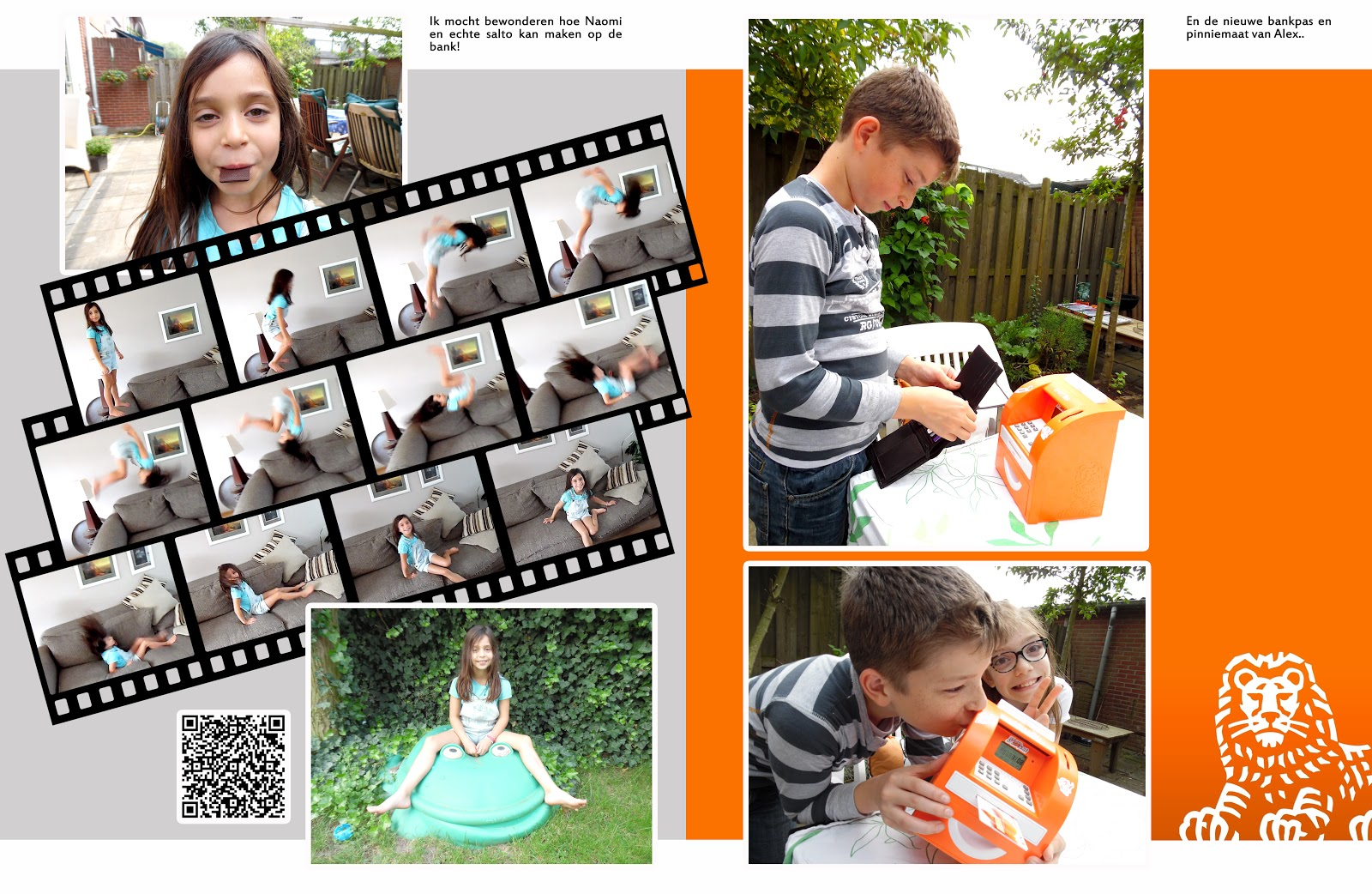Project Life 2014 Double Page Layout