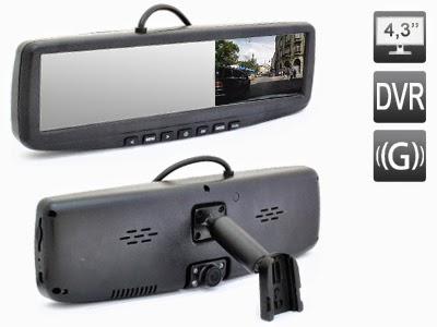 зеркало с видеорегистратором avs0455dvr