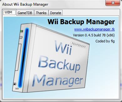Minecraft wii wbfs download manager