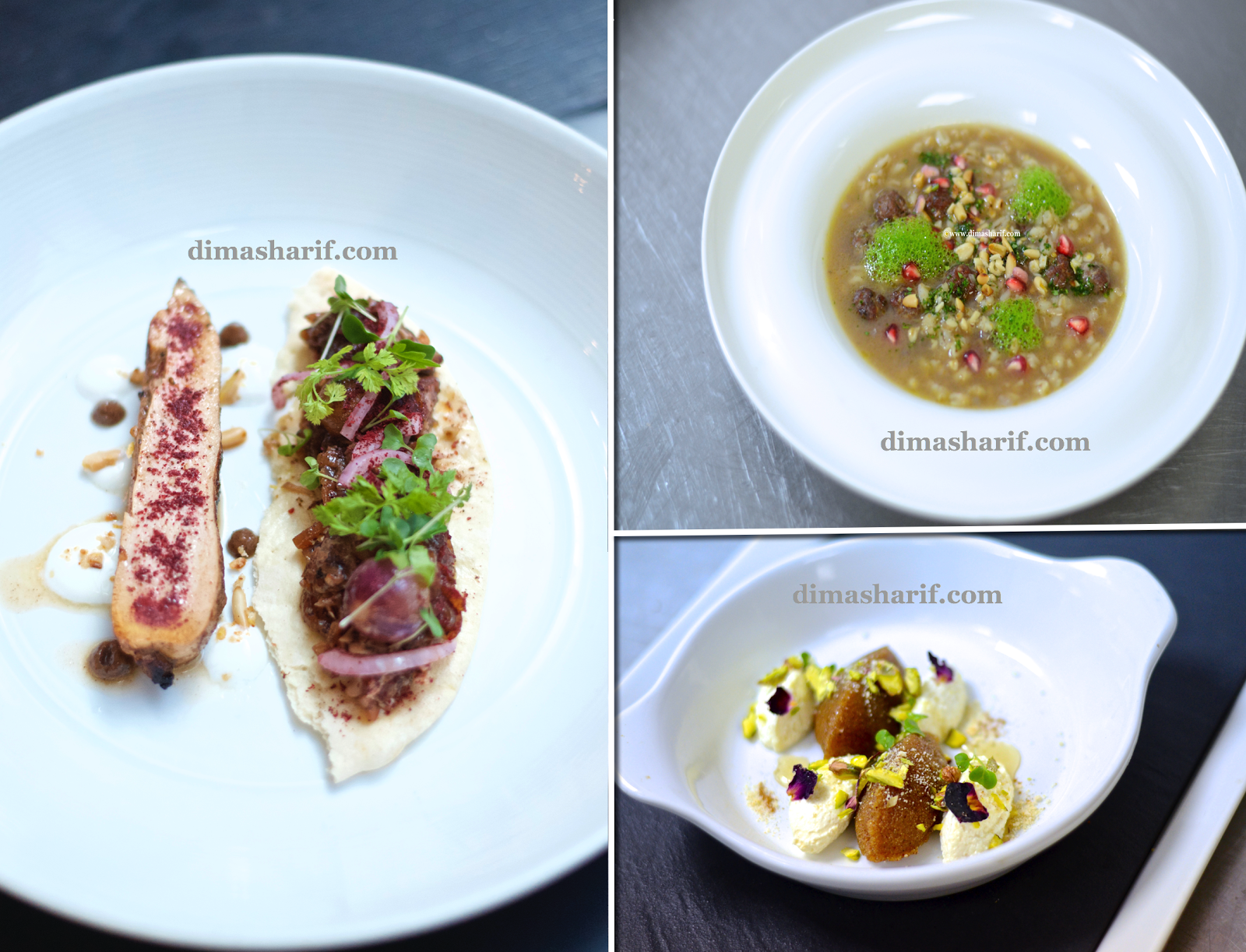 A Review of my Recent Pop up menu & preview of my vsion behind my upcoming cookbook