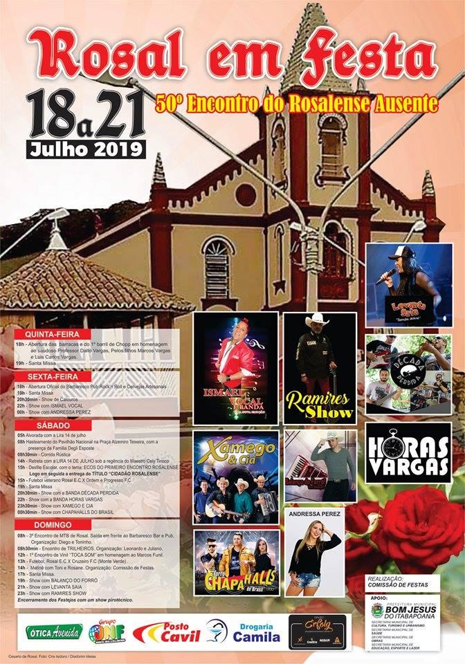 FESTA DE ROSAL 2019