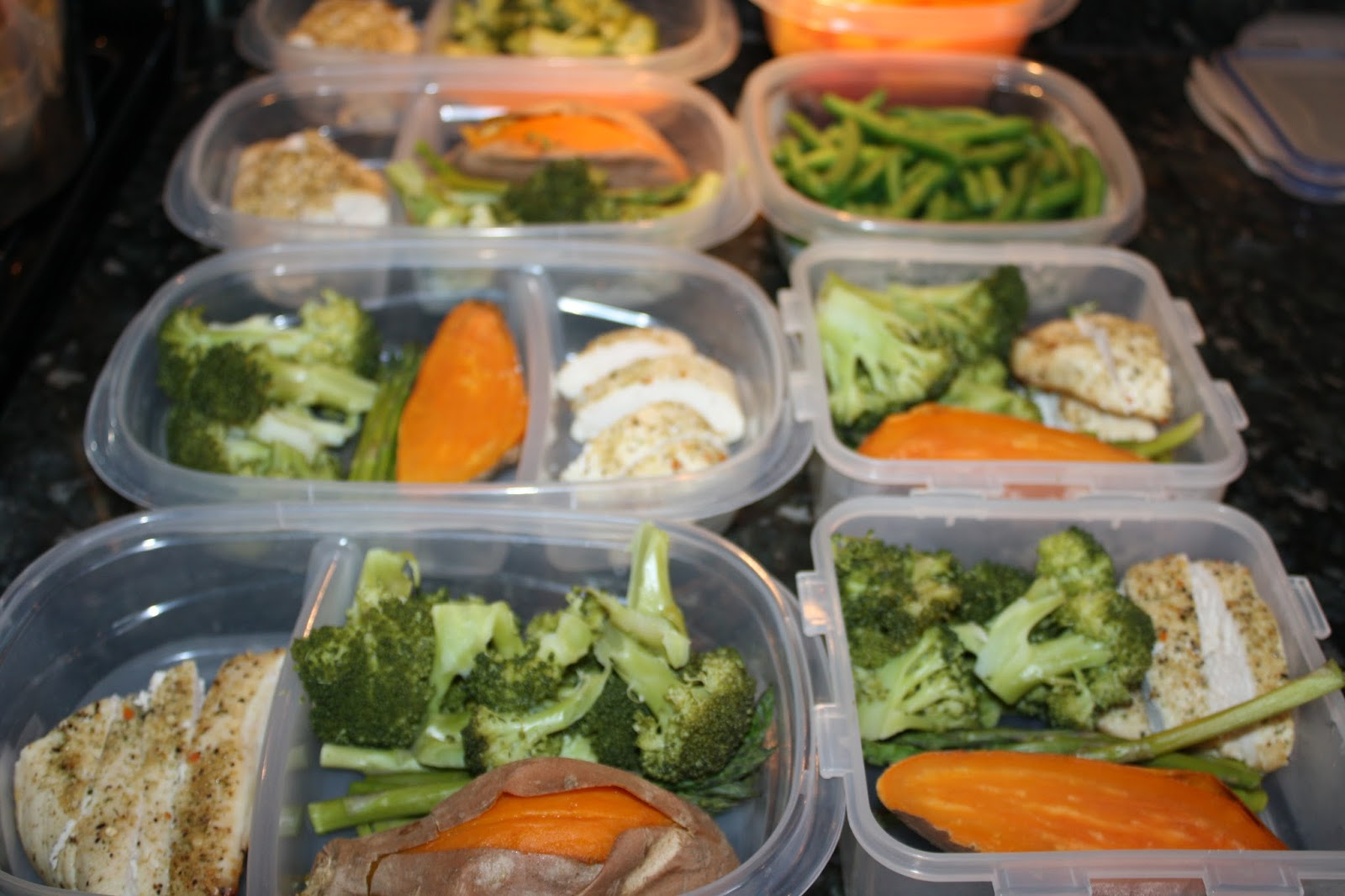 Fit amp; Healthy Mommy: Batch Meal Prep  Clean Eating