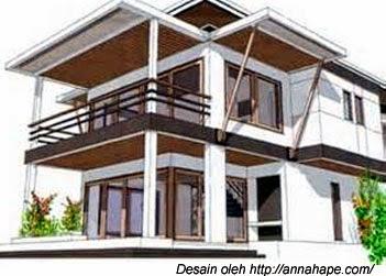 desain rumah bebas banjir