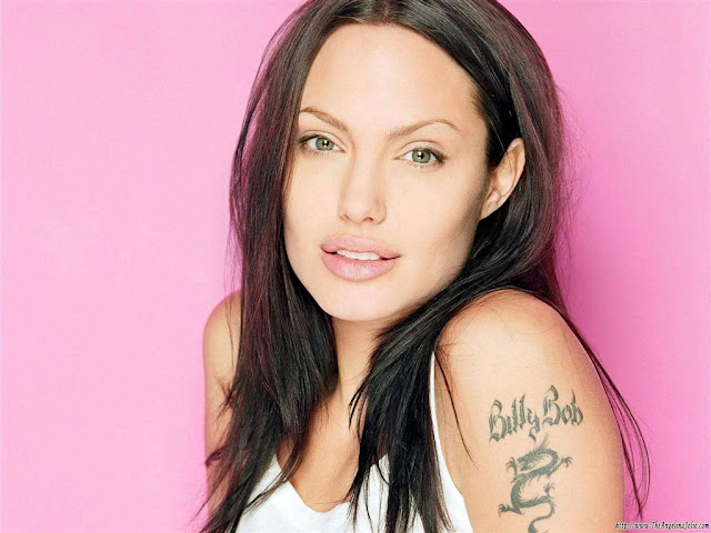 Angelina Jolie Name Tattoo